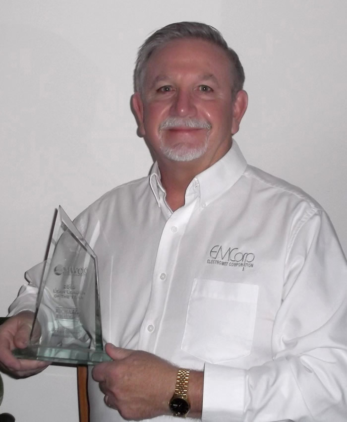 Dick Ebaugh, Maryland Lean Leader of the Year 2010