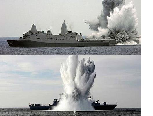 Electromet electronic enclosure ship blast testing