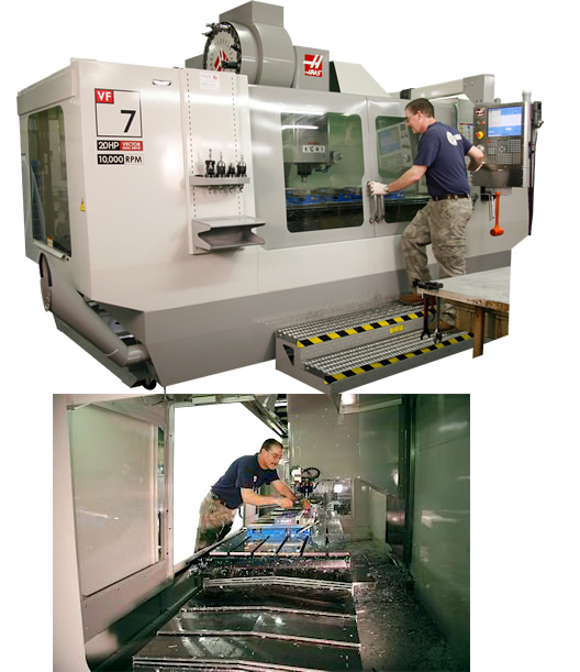 We maintain tight tolerances from a variety of materials with various CNC machining centers, turning centers