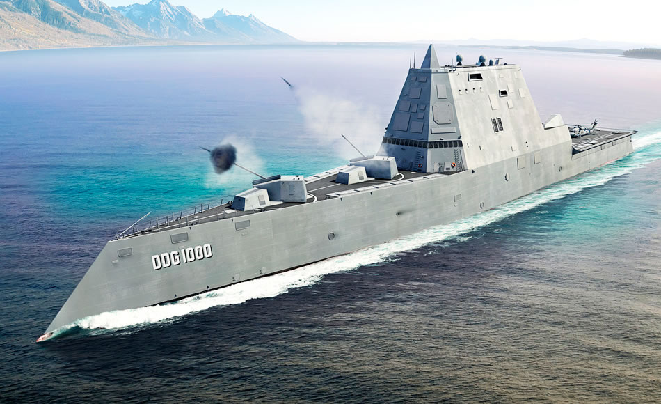Electromet Integrated Power System (IPS) electronic enclosures for the Zumwalt Class (DDG 1000) Destroyers