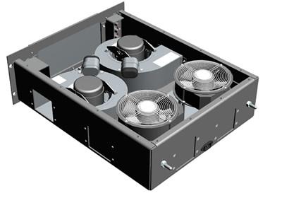 Blower drawer - Configuration 4