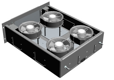 Blower drawer - Configuration 5