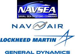 NAVSEA, NAVAIR, General Dynamics, Lockheed Martin