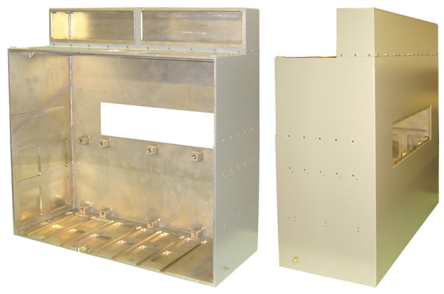 F-35 Starter Cart - Electronics Enclosure Cabinet
