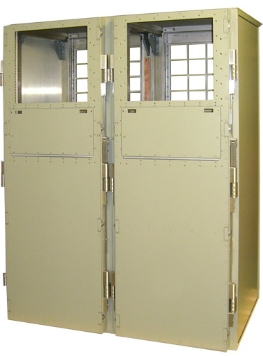 Electronics Enclosure Navy C4I SUB-CANES Program