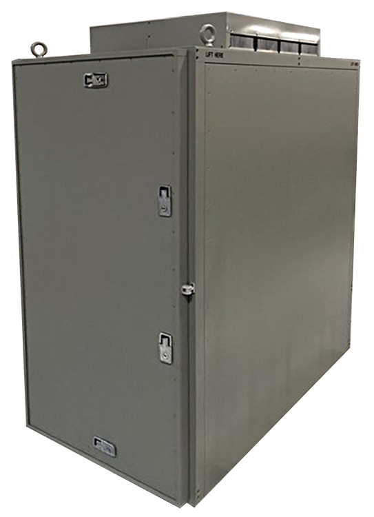 Electromet ICADS2 1019 Electronics Enclosure