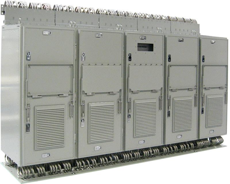 Electromet Shock Resistant Electronics Enclosure 5-bay unit